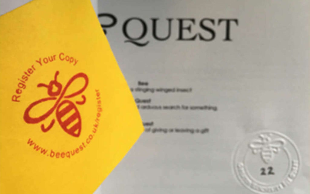 Register Your Copy of BeeQuest