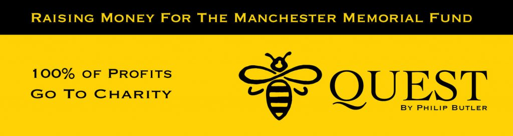 Manchester Bee Quest MCRbeeQuest by Philip Butler Manchester Freelance Website Designer