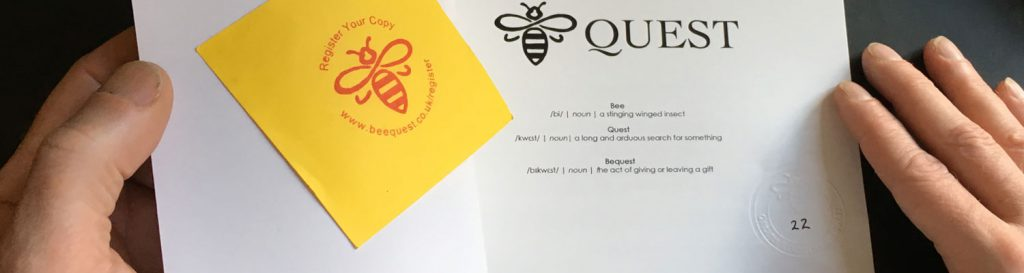 manchester bee quest register header
