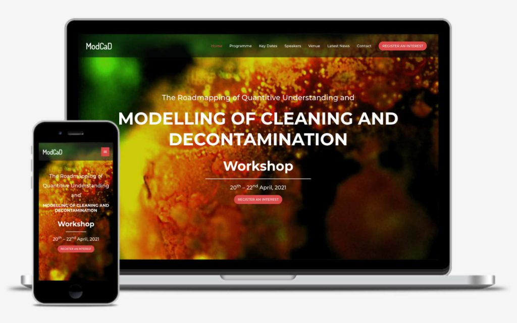 manchester website developer portfolio - modcad