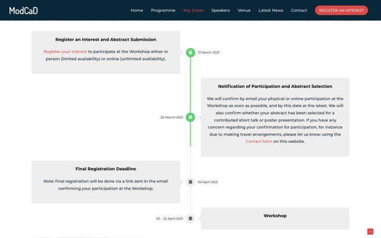 manchester website developer portfolio - modcad3