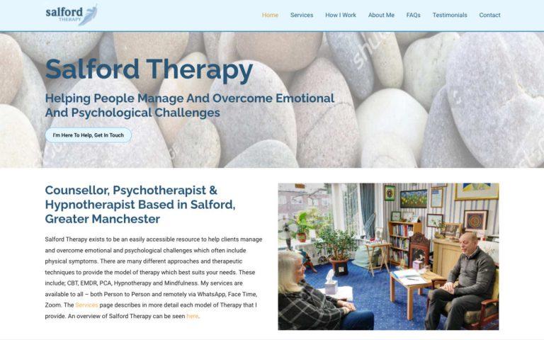 manchester website developer portfolio - salfordtherapy-after