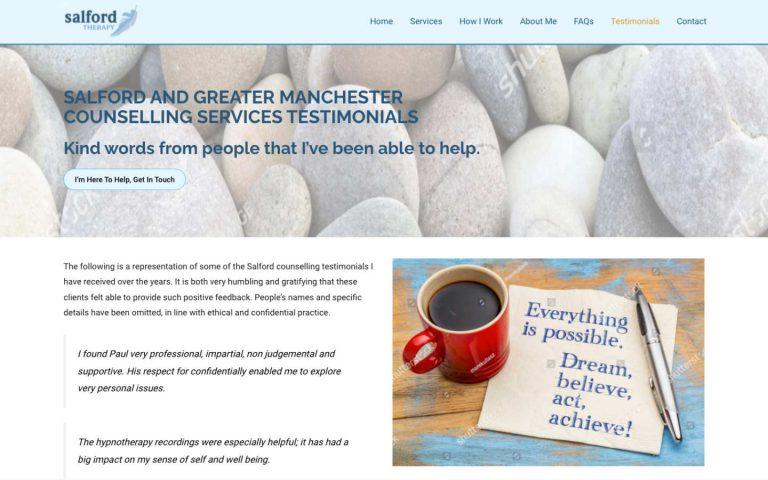 manchester website developer portfolio - salfordtherapy-after2